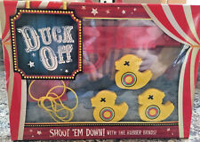 Desktop DUCK SHOOT Game Shooting Rubber Band toy Gun Christmas stocking filler