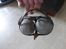 ancienne boule de petanque dans sac laniere cuir 2 boules vintage deco