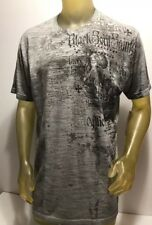 NWT Mens Affliction BLK Saints SS T shirt Size 2X XXL New