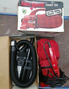 Dirt Devil DD150 Plus Handy Zip Vacuum Cleaner with Boxed Accessories
