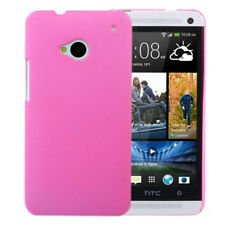 HardCase Pure Colour Schutzhülle für HTC One / M7 in pink Case Hülle Backcover