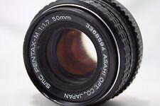 **For Repair** Asahi Pentax SMC Pentax-M 50mm 1:1.7 Lens **As Is** #V026