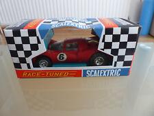 Scalextric Ferrari P4-C16-Rouge-Comme neuf & Boxed
