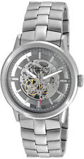Kenneth Cole KC3925 Men's Automatic Skeleton Bracelet Gunmetal