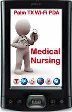 2017 MEDICAL NURSING PALM TX T/X WIFI PDA DRUG GUIDE PEPID NCLEX RN EXAM Q&A DVD