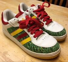 RARE Mens Adidas RASTA Remix Shoes 044093 Size 9