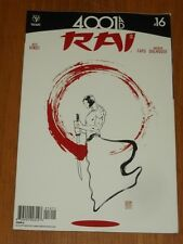 RAI #16 VALIANT COMICS 4001AD COVER A