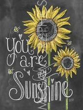 "LILY & VAL, LLC. - YOUR ARE MY SUNSHINE - ART PRINT POSTER 14"" x 11"" (4407)"