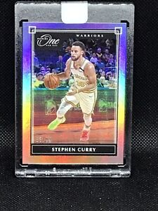 2019-20 Panini One and One Stephen Curry Silver Prizm Base /99 Card SP