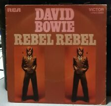 "SP 45T David Bowie  "" Rebel rebel "" -  RCA Victor ‎– LPBO 5009 - 1974 - EX / NM"