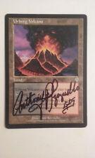 Urborg Volcano Invasion Ed Signed Tony Szczudlo MTG