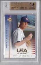 2004-2005 UD USA Mike Pelfrey Rookie Graded BGS 9.5