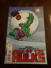 Fall of the Hulks: Gamma #1 NM Ed McGuinness Variant Death of General Ross 2010