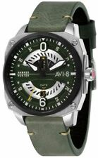 AVI-8 Mens Hawker Hunter Watch - Green/Dark Green