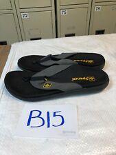 Men's Spenco Total Support Orthotic Flip-Flops Sandals Sz 8