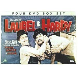 The Best of Laurel & Hardy 4 DVD Box Set inc Flying Deuces Utopia & Wizard of Oz