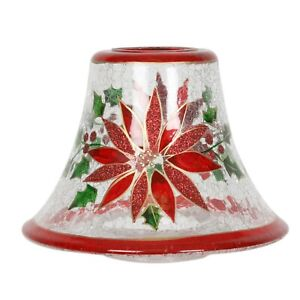 Aromatize Hand Crafted Candle Jar Shade - Holly Floral