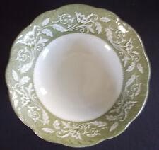 "J & G Meakin Sterling Renaissance Green 8-1/4"" Round Vegetable Serving Bowl"