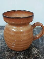 Handsome Studio Pottery Earthenware Mug Signed Cumbria Pottery