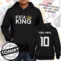 FIFA King Hoodie football, Fifa Champ, ps4, xbox, pc gaming Hoodie**Free Name**