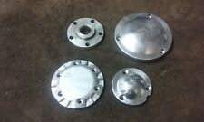 HARLEY SHOVELHEAD EVO DRAG BIKE CHOPPER BILLET ALUMINUM OPEN BELT DRIVE PARTS