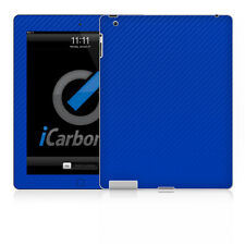 iPad Skin (2nd & 3rd Gen) - Blue Carbon Fibre skin by iCarbons