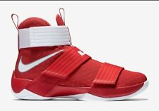 best sneakers 85f3c 9a8cc Nike LeBron Soldier 10 TB University Red Sz 14 James Basketball Shoes 844380 -601