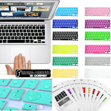 "NEW Silicon UK/EU layout keyboard Skin cover Macbook Pro / Pro Retina 13"" 15"""