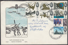 1966 Battle of Britain scarce Holmes Tolley FDC; Birmingham FDI