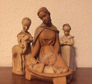 Martha Hinckeldey Krippenfiguren Engel Muttergottes Jesuskind Rothenburg