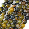 "Natural Gold Brown Blue Pietersite Round Beads 15.5"" 4mm 6mm 8mm 10mm 12mm"