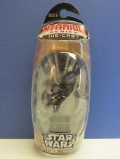NEW Star Wars Titanio SERIE DIE-CAST Darth Maul Speeder modello HASBRO 44D