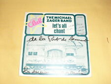 The Michael Zager Band – Let's All Chant (Special Club) 45 RPM 7'' Single