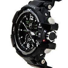 Casio G-Shock GWA-1100-1A3 G-Aviation GRAVITYMASTER Stylish Watch Black One Size