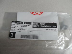 NEW Factory TOYOTA SCION OEM SCREW WASHER TAP 90159-A0029