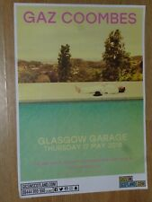 Gaz Coombes live music memorabilia - Glasgow may 2018 show concert gig poster