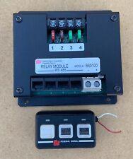 Federal Signal 3 Button Controller Relay Module 660100