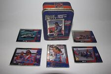 KYLE PETTY EMBOSSED METAL CARDS IN COLLECTOR TIN BOX - CARDS NEVER BEEN OPENED