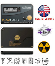 Ecotest Card Personal Dosimeter Dkg 21 Gamma Radiation Portable Card Device
