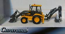 Atlas HO #30000093 Volvo BL71 Backhoe Loader - Assembled -- Yellow, Black