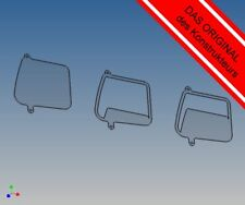 SSSV - Seitenscheibensatz passend zu TAMIYA Volvo FH12 M1:14