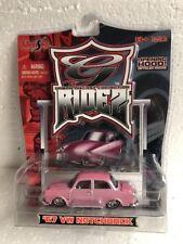2006 Maisto G Ridez 1967 67 VW Notchback Volkswagen PINK 1:64
