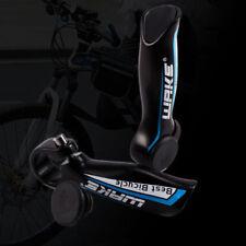 Rallonges et embouts de guidon bleus pour vélo