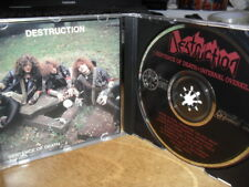 DESTRUCTION -INFERNAL+ SENTENCE- AWESOME CLASSIC THRASH METAL JAPANESE PRESS