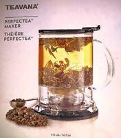 Black Starbucks / Teavana Perfectea Maker: 16oz (New In Box)