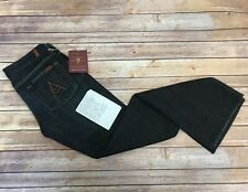 Seven 7 For All Mankind $189 A-Pocket Boot to Flare Jeans Dark Vintage 30 NWT