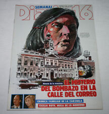 16 weekly journal no 111 1983, the mystery of the bombing of Calle del correo, r