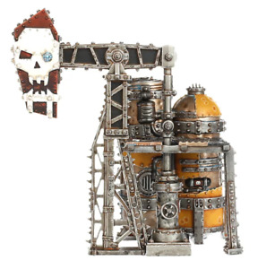 Warhammer 40k Kill Team: Octarius Scenery Terrain Orks Oil Tank Rig Pump NOS