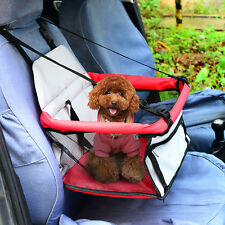 PawHut Hundetasche Haustier Katzen Hunde Tasche Für Autositz Hundesitz Im Auto