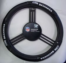 Seattle Seahawks Steering Wheel Cover Massage Grip